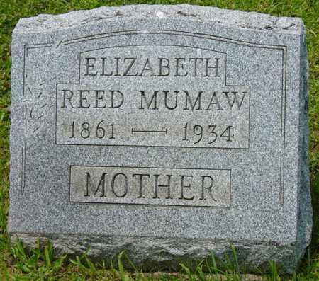 REED MUMAW, ELIZABETH - Wayne County, Ohio | ELIZABETH REED MUMAW - Ohio Gravestone Photos