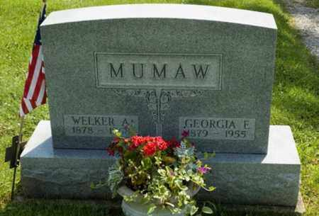 MUMAW, GEORGIA E. - Wayne County, Ohio | GEORGIA E. MUMAW - Ohio Gravestone Photos