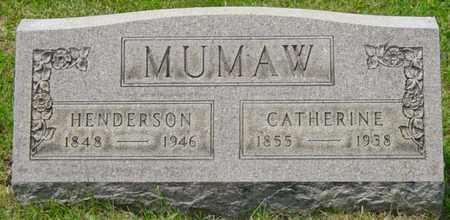 MUMAW, CATHERINE - Wayne County, Ohio | CATHERINE MUMAW - Ohio Gravestone Photos