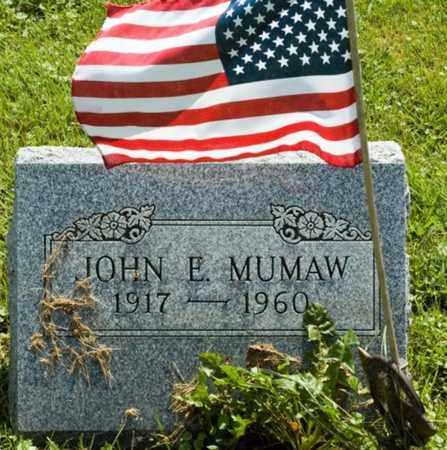 E. MUMAW, JOHN - Wayne County, Ohio | JOHN E. MUMAW - Ohio Gravestone Photos