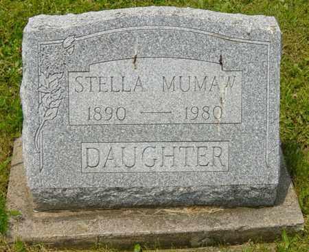 MUMAW, STELLA - Wayne County, Ohio | STELLA MUMAW - Ohio Gravestone Photos