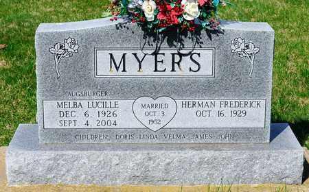 MYERS, MELBA LUCILLE - Wayne County, Ohio | MELBA LUCILLE MYERS - Ohio Gravestone Photos