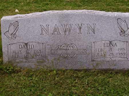 NAWYN, EDNA - Wayne County, Ohio | EDNA NAWYN - Ohio Gravestone Photos