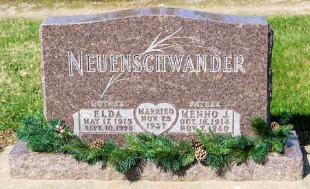 NEUENSCHWANDER, MENNO J - Wayne County, Ohio | MENNO J NEUENSCHWANDER - Ohio Gravestone Photos