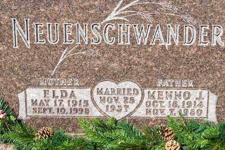 NEUENSCHWANDER, ELDA - Wayne County, Ohio | ELDA NEUENSCHWANDER - Ohio Gravestone Photos