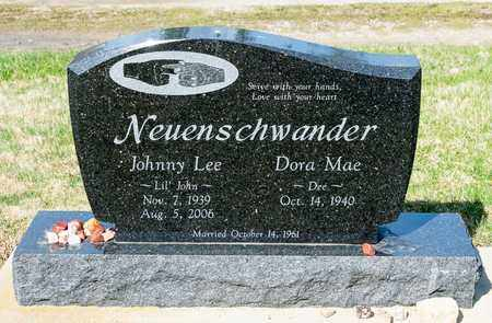 NEUENSCHWANDER, JOHNNY LEE - Wayne County, Ohio | JOHNNY LEE NEUENSCHWANDER - Ohio Gravestone Photos
