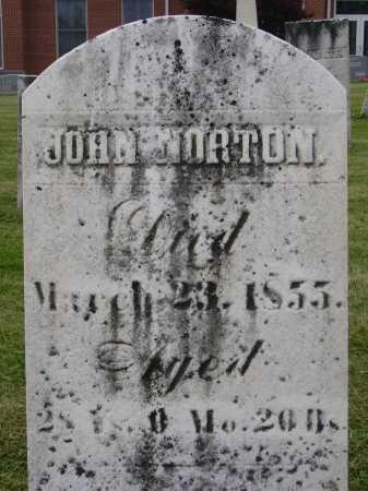 NORTON, JOHN - Wayne County, Ohio | JOHN NORTON - Ohio Gravestone Photos