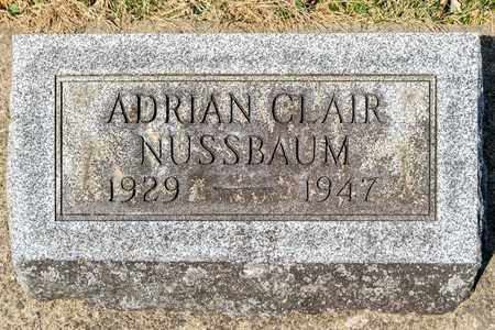 NUSSBAUM, ADRIAN CLAIR - Wayne County, Ohio | ADRIAN CLAIR NUSSBAUM - Ohio Gravestone Photos