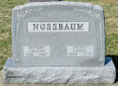 NUSSBAUM, ARLENE - Wayne County, Ohio | ARLENE NUSSBAUM - Ohio Gravestone Photos