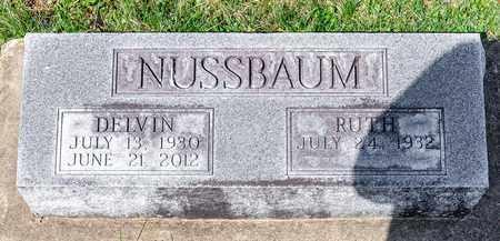 NUSSBAUM, DELVIN - Wayne County, Ohio | DELVIN NUSSBAUM - Ohio Gravestone Photos