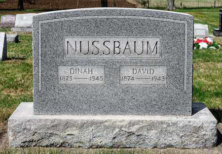 NUSSBAUM, DAVID - Wayne County, Ohio | DAVID NUSSBAUM - Ohio Gravestone Photos