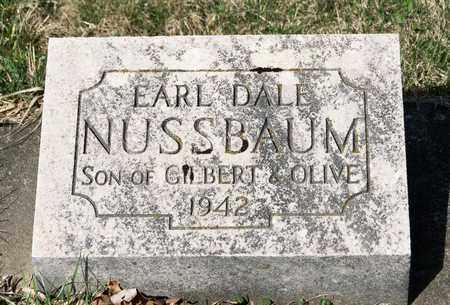 NUSSBAUM, EARL DALE - Wayne County, Ohio | EARL DALE NUSSBAUM - Ohio Gravestone Photos