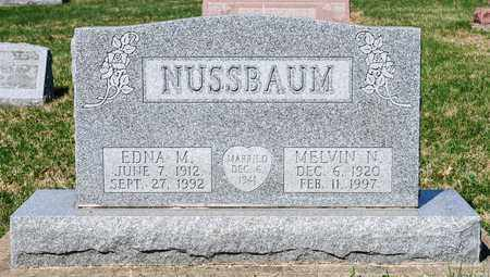NUSSBAUM, MELVIN N - Wayne County, Ohio | MELVIN N NUSSBAUM - Ohio Gravestone Photos