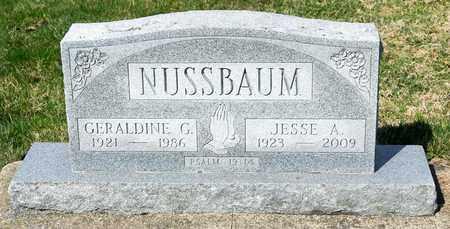 NUSSBAUM, GERALDINE G - Wayne County, Ohio | GERALDINE G NUSSBAUM - Ohio Gravestone Photos