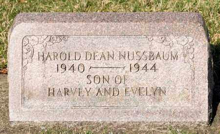 NUSSBAUM, HAROLD DEAN - Wayne County, Ohio | HAROLD DEAN NUSSBAUM - Ohio Gravestone Photos