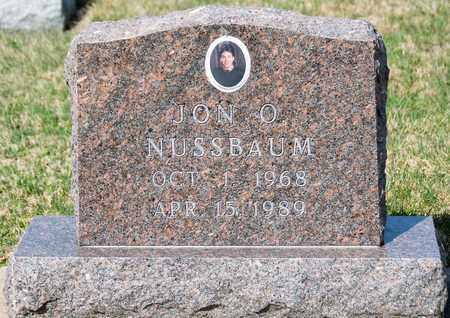 NUSSBAUM, JON O - Wayne County, Ohio | JON O NUSSBAUM - Ohio Gravestone Photos