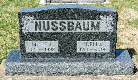 NUSSBAUM, IDELLA - Wayne County, Ohio | IDELLA NUSSBAUM - Ohio Gravestone Photos