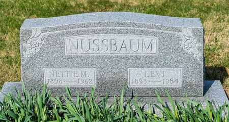 NUSSBAUM, NETTIE M - Wayne County, Ohio | NETTIE M NUSSBAUM - Ohio Gravestone Photos