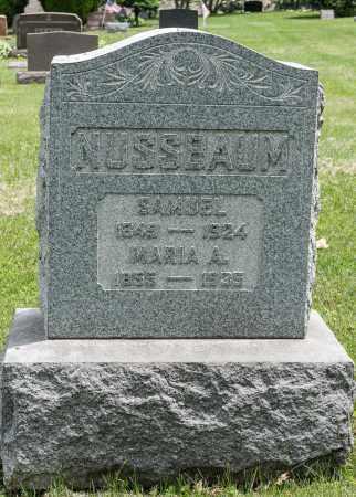 NUSSBAUM, SAMUEL - Wayne County, Ohio | SAMUEL NUSSBAUM - Ohio Gravestone Photos