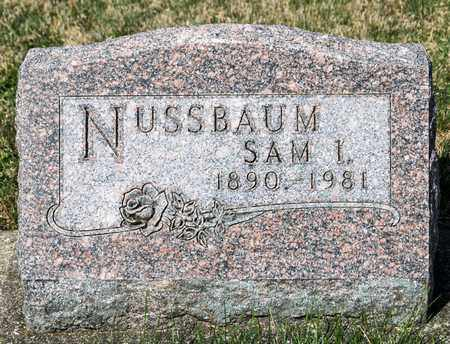 NUSSBAUM, SAM I - Wayne County, Ohio | SAM I NUSSBAUM - Ohio Gravestone Photos