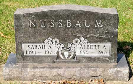 NUSSBAUM, ALBERT A - Wayne County, Ohio | ALBERT A NUSSBAUM - Ohio Gravestone Photos