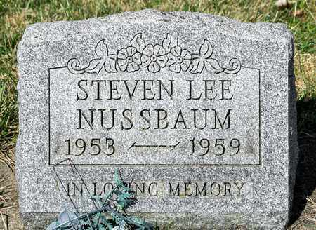 NUSSBAUM, STEVEN LEE - Wayne County, Ohio | STEVEN LEE NUSSBAUM - Ohio Gravestone Photos