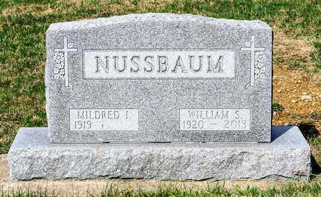 NUSSBAUM, WILLIAM S - Wayne County, Ohio | WILLIAM S NUSSBAUM - Ohio Gravestone Photos