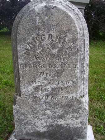 OSWALD, MARGARET - Wayne County, Ohio | MARGARET OSWALD - Ohio Gravestone Photos