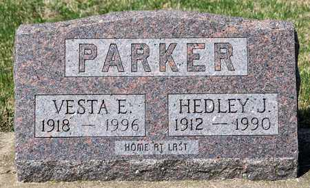 PARKER, HEDLEY J - Wayne County, Ohio | HEDLEY J PARKER - Ohio Gravestone Photos