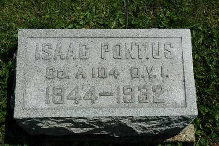 PONTIUS, ISAAC - Wayne County, Ohio | ISAAC PONTIUS - Ohio Gravestone Photos