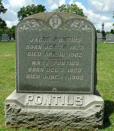 PONTIUS, JACOB - Wayne County, Ohio | JACOB PONTIUS - Ohio Gravestone Photos