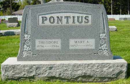 SAUDER PONTIUS, MARY A. - Wayne County, Ohio | MARY A. SAUDER PONTIUS - Ohio Gravestone Photos
