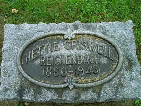 CRISWELL, NELLIE - Wayne County, Ohio | NELLIE CRISWELL - Ohio Gravestone Photos