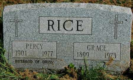 RICE, GRACE - Wayne County, Ohio | GRACE RICE - Ohio Gravestone Photos
