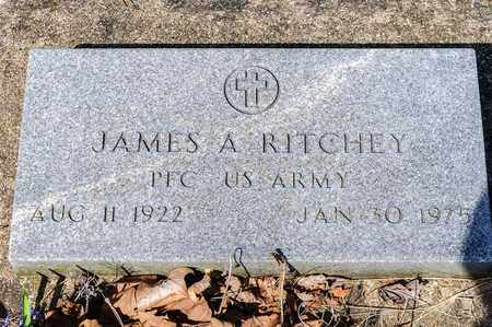 RITCHEY, JAMES A - Wayne County, Ohio | JAMES A RITCHEY - Ohio Gravestone Photos
