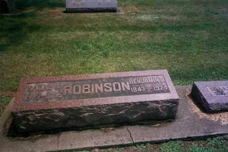ROBINSON, BENJAMIN - Wayne County, Ohio | BENJAMIN ROBINSON - Ohio Gravestone Photos