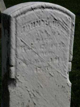 ROHRER, JOHN - Wayne County, Ohio | JOHN ROHRER - Ohio Gravestone Photos