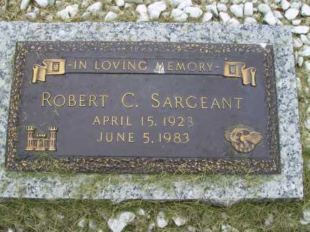 SARGEANT, ROBERT C. - Wayne County, Ohio | ROBERT C. SARGEANT - Ohio Gravestone Photos