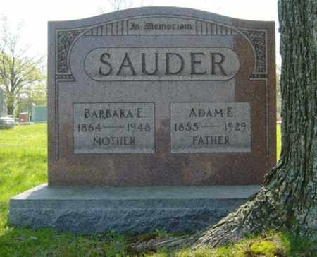 SAUDER, BARBARA E. - Wayne County, Ohio | BARBARA E. SAUDER - Ohio Gravestone Photos