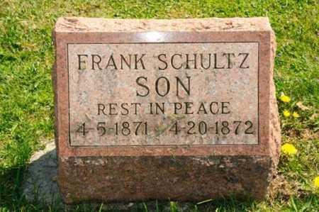 SCHULTZ, FRANK - Wayne County, Ohio | FRANK SCHULTZ - Ohio Gravestone Photos