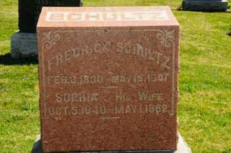 BERCH SCHULTZ, SOPHIA - Wayne County, Ohio | SOPHIA BERCH SCHULTZ - Ohio Gravestone Photos