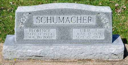 SCHUMACHER, URIE J - Wayne County, Ohio | URIE J SCHUMACHER - Ohio Gravestone Photos