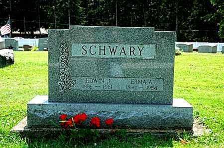 SCHWARY, EDWIN J. - Wayne County, Ohio | EDWIN J. SCHWARY - Ohio Gravestone Photos