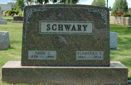 BRICKER SCHWARY, FLORENCE E. - Wayne County, Ohio | FLORENCE E. BRICKER SCHWARY - Ohio Gravestone Photos