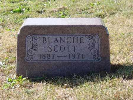 SCOTT, BLANCHE - Wayne County, Ohio | BLANCHE SCOTT - Ohio Gravestone Photos