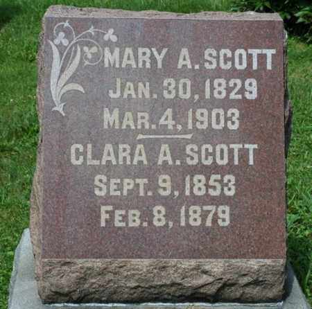 SCOTT, MARY A. - Wayne County, Ohio | MARY A. SCOTT - Ohio Gravestone Photos