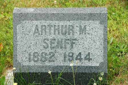 SENFF, ARTHUR M. - Wayne County, Ohio | ARTHUR M. SENFF - Ohio Gravestone Photos