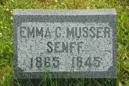 SENFF, EMMA C. - Wayne County, Ohio | EMMA C. SENFF - Ohio Gravestone Photos