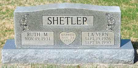 SHETLER, LA VERN - Wayne County, Ohio | LA VERN SHETLER - Ohio Gravestone Photos