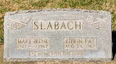 SLABACH, EDWIN RAY - Wayne County, Ohio | EDWIN RAY SLABACH - Ohio Gravestone Photos